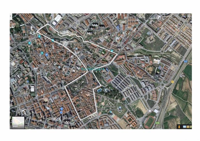 En la franja delimitada entre Barranco del Alamín, Ingeniero Mariño, Boixareu Rivera, Virgen del Amparo, lateral Parque San Juan Bosco, calle Ferial y aledañas a Bejanque
