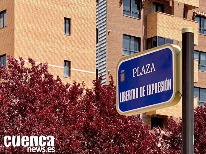 Plaza Libertad de Expresión en Cuenca