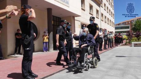 Dan de alta al comisario de Policía Nacional en Cuenca tras 63 días en UCI del Virgen de la Luz