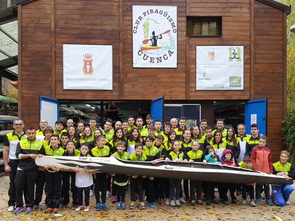 El Club Piragüismo Cuenca con Carácter celebra su tradicional comida de Navidad