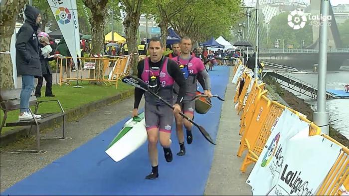El K2 del C.D. Cuenca Kayak consiguió el bronce en la Copa de España de Maratón