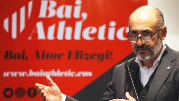 El Presidente del Athletic participa esté sábado en el homenaje a Manolo Delgado en Minglanilla