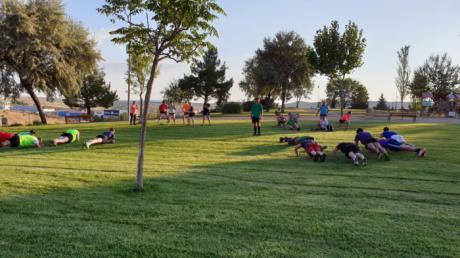 El Club Rugby A Palos inicia la pretemporada de sus equipos sénior