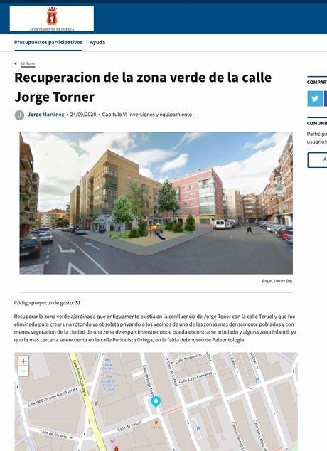 La ciudadanía de Cuenca presenta un total de 151 propuestas a los Presupuestos Participativos 2020