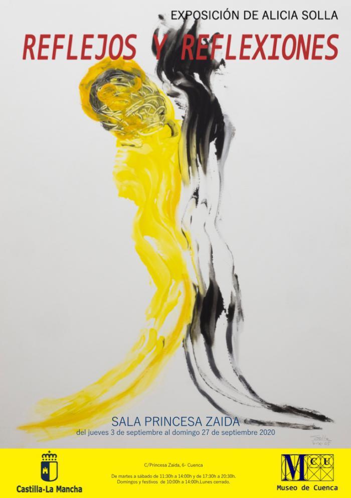 La Sala de Exposiciones Princesa Zaida acoge ´Reflejos y Reflexiones´ de la artista Alicia Solla