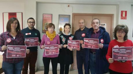 Campaña de CCOO y UGT para reivindicar subidas salariales, empleo público y recuperación de derechos
