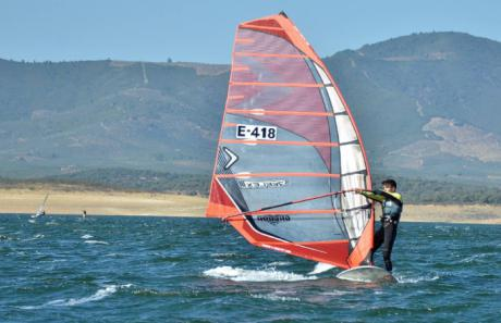 Miguel Bailo, del club CKSC de Alarcón logró el segundo puesto juvenil Campeonato de España de Vela
