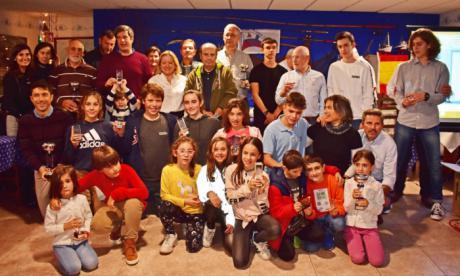 Gran éxito del CKSC de Cuenca en la gala regional de vela