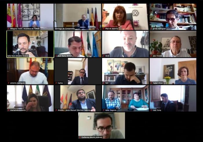 El Grupo de Ciudades Patrimonio de la Humanidad solicita al Gobierno de España mejoras en la conectividad de sus destinos