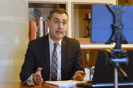 Francisco Tierraseca, delegado del Gobierno de España en Castilla-La Mancha