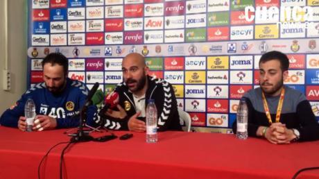 Lidio Jiménez y Leo Maciel valoran el encuentro entre el Liberbank Cuenca - Fraikin Granollers (26- 22) en la semifinales de la Copa del Rey