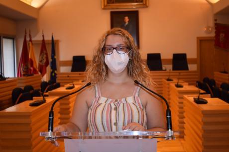 La viceportavoz del Ayuntamiento de Ciudad Real, Sara Martínez, hace balance positivo de las Ferias por su tranquilidad en cuanto a seguridad e incidentes