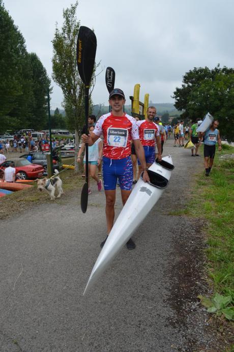 El C.D. Cuenca Kayak participo en el Descenso del Sella