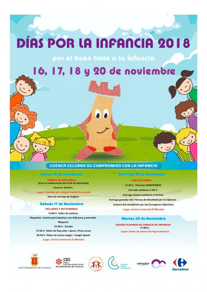 La Semana de la Infancia ofrece numerosas actividades para concienciar sobre los derechos de los niños