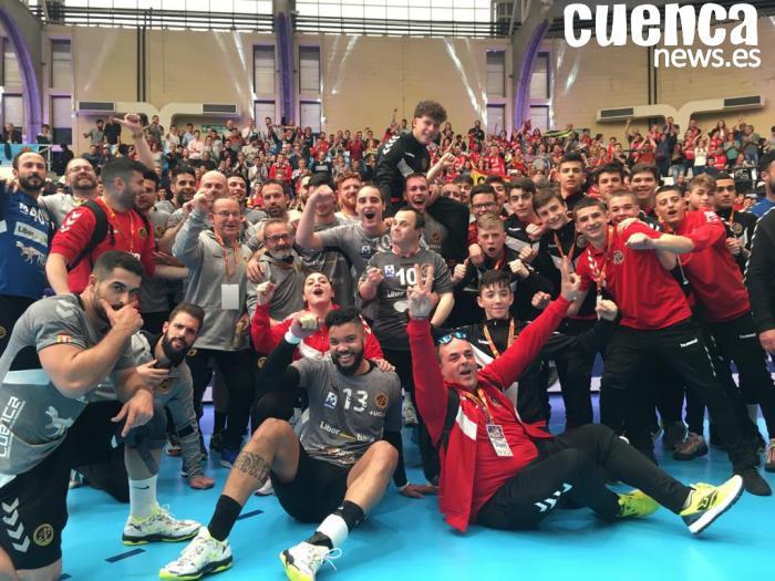 El Liberbank Cuenca hace historia clasificándose para su primera final de la Copa del Rey(26-22)