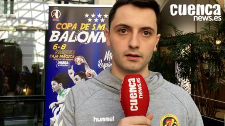 Sergio López , jugador del Liberbank Cuenca