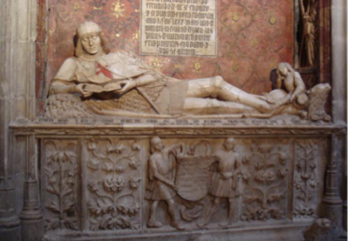 Sepulcro del Doncel, realizado entre 1486 y 1504