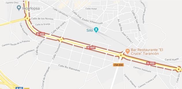 La Avenida Adolfo Suárez permanecerá este miércoles cerrada parcialmente al tráfico por un simulacro