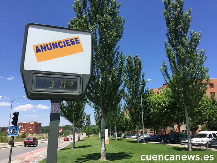 La provincia de Cuenca en alerta por calor