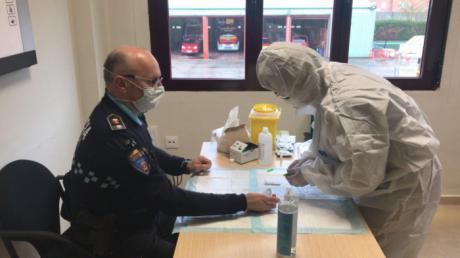 El Ayuntamiento realiza test de detección rápida del Covid-19 a 180 trabajadores municipales de servicios esenciales