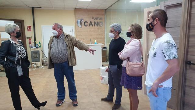 Vox visita varias pueblos de la provincia
