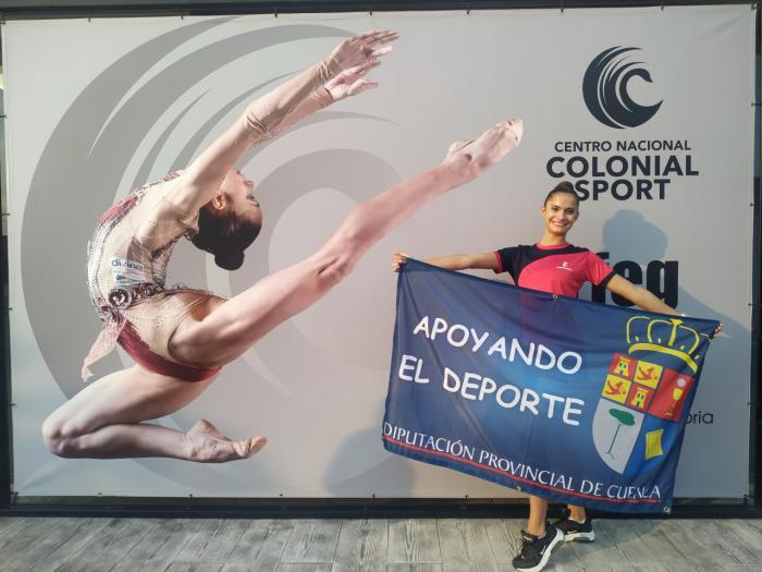 Buen papel de Lucía Romero en el Campeonato de España en edad escolar
