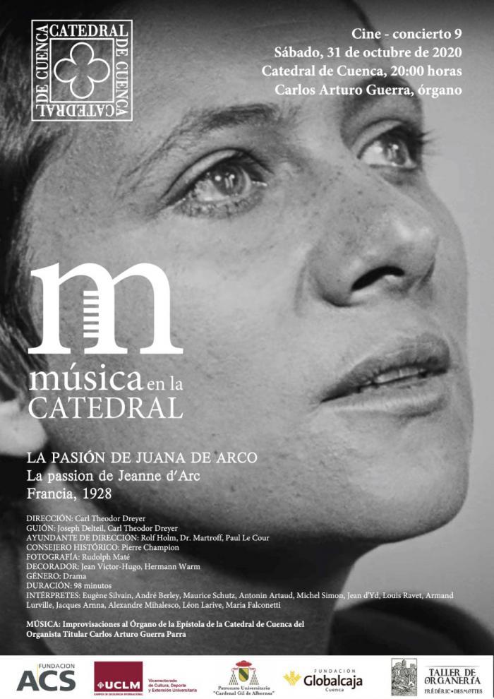 Cine-concierto, un novedoso formato de ´Música en la Catedral' para este próximo sábado