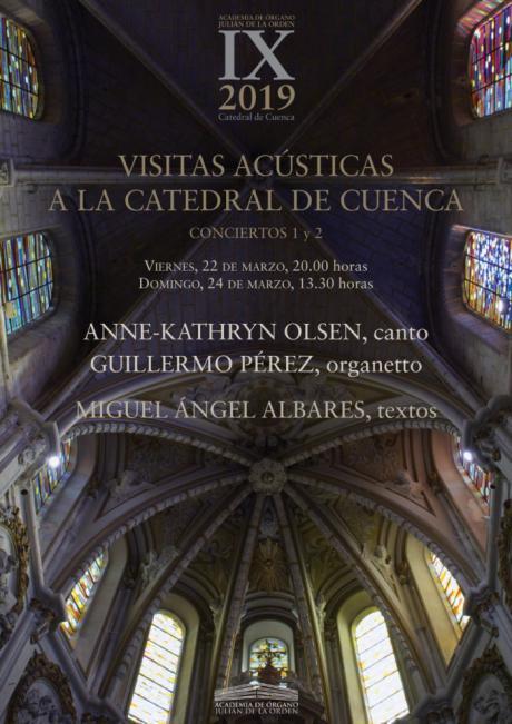 Dos Visitas Acústicas inauguran la Academia de Órgano en la Catedral