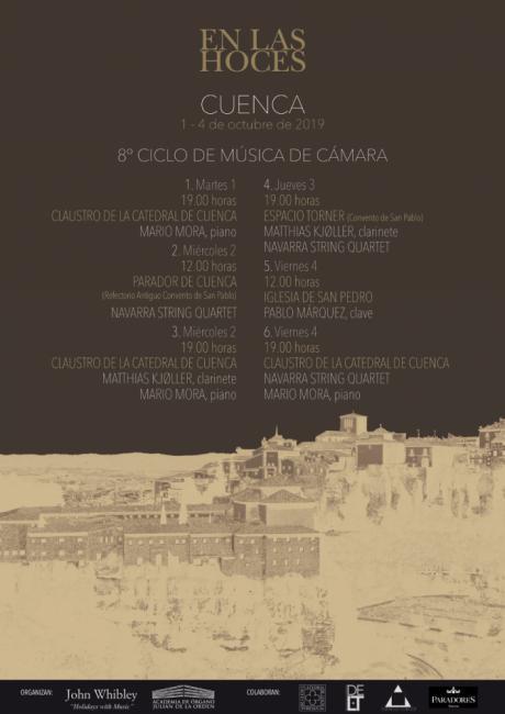 Arranca el VIII Ciclo de Música de Cámara 'En las hoces'