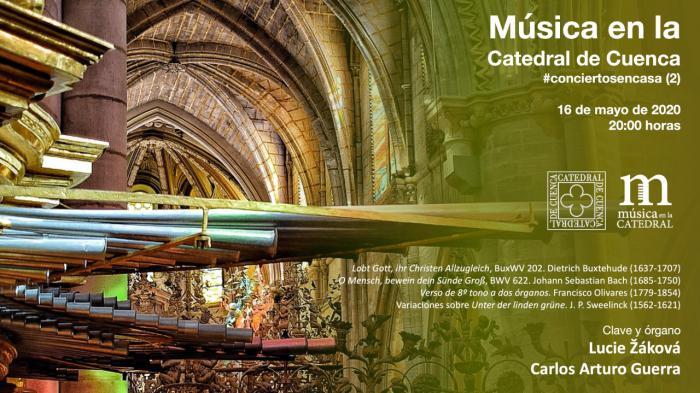 Continúa la actividad cultural de la Catedral 'a puerta cerrada'