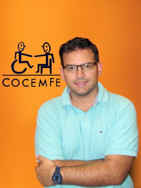 Alejandro Antonio Martínez Carretero, nuevo presidente de COCEMFE Cuenca