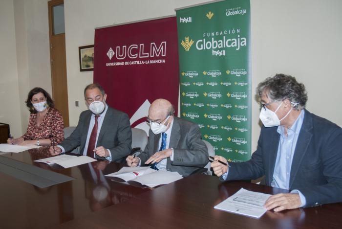 Junta, UCLM y Fundación Globalcaja renuevan su alianza en apoyo del emprendimiento