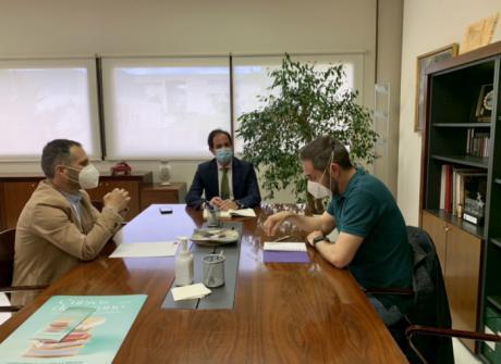 Manifiesto por Cuenca se reúne con el vicerrector de la UCLM