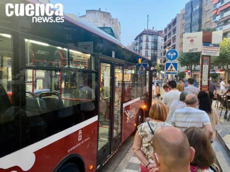 Las lanzaderas al Casco Antiguo saldrán desde la rotonda de El Sargal con Colón entre las 15,00 y las 20,00 horas con motivo del Triatlón Ciudad de Cuenca