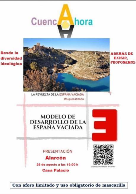 Cuenca Ahora presenta en Alarcón el Modelo de Desarrollo de la España Vaciada