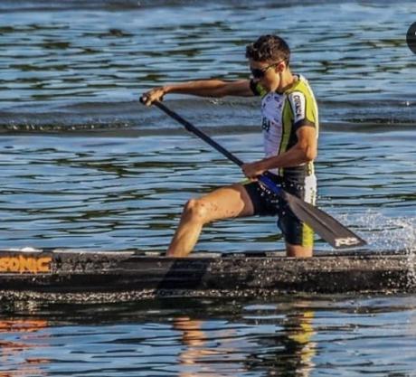David Olivares subcampeón de España en el Campeonato de España de Sprint olímpico de Jóvenes Promesas