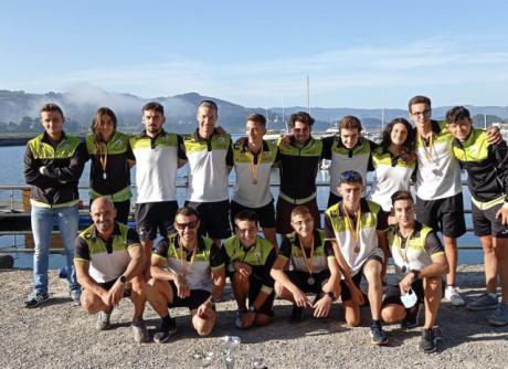 El Club Piragüismo Cuenca con Carácter subcampeón en la Liga Nacional de Maratón, Ríos y Travesías