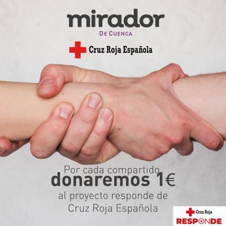El Centro Comercial Mirador inicia una campaña en beneficio del Plan Cruz Roja RESPONDE