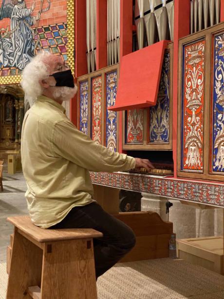 Jan Willem Jansen, protagoniza el concierto del próximo sábado en 'Música en la Catedral'