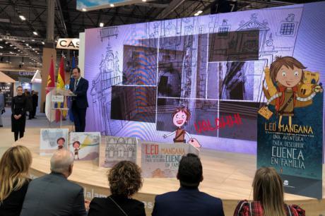 Patricia Gómez Jordán, ganadora del sorteo para el lanzamiento del producto turístico familiar Leo Mangana