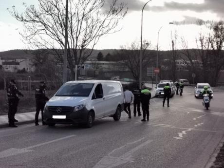 Policía Local y Agentes de Movilidad efectúan controles en camiones y autobuses esta semana