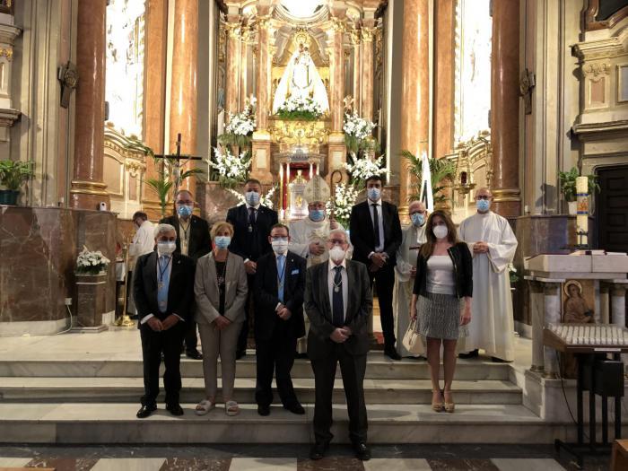 •Las eucaristías celebradas ayer y hoy día 1 de junio han sido las únicas celebraciones debido a la situación de pandemia sanitaria