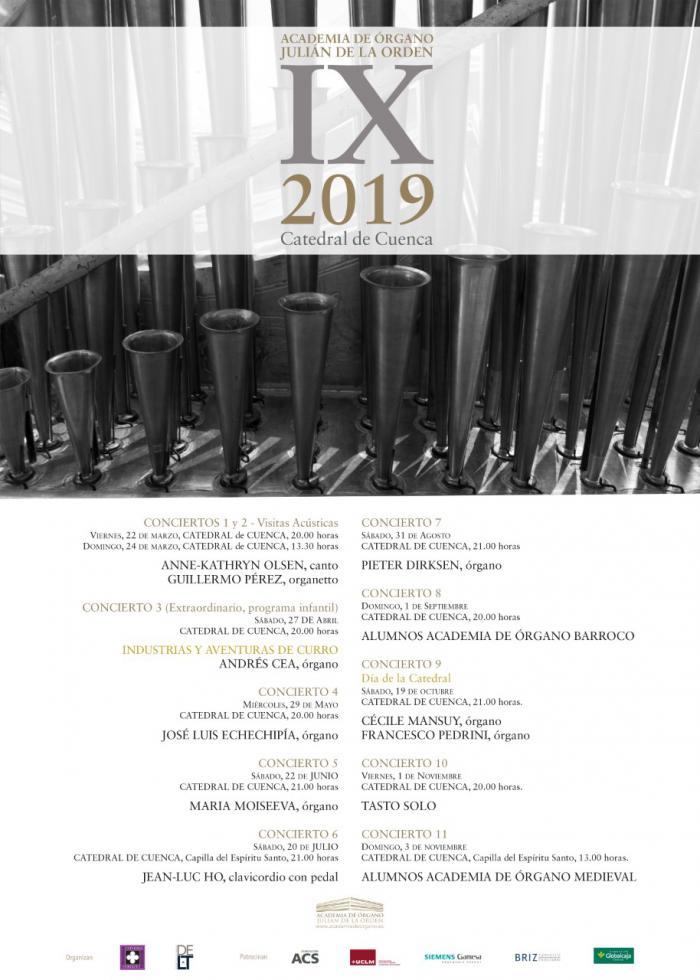 Inicia su andadura la IX Academia de Órgano 'Julián de la Orden'