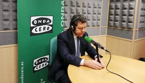 """Emiliano García-Page: """"No descarto a largo plazo que los partidos independentistas sean declarados inconstitucionales"""""""