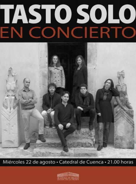Comienza el Curso Internacional de Organetto medieval y tres nuevos conciertos de la Academia de Órgano 'Julián de la Orden' en la Catedral de Cuenca