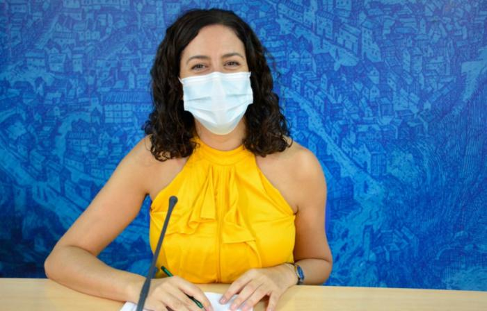 Noelia de la Cruz, portavoz del equipo de Gobierno de Toledo
