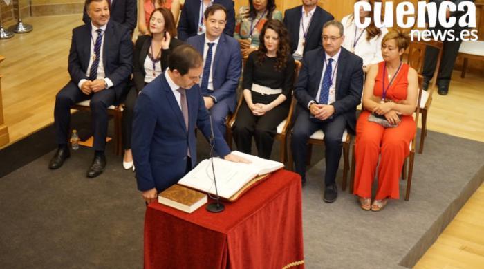 César Sánchez, nuevo vicerrector del campus de Cuenca, renuncia a su acta de concejal en el Ayuntamiento