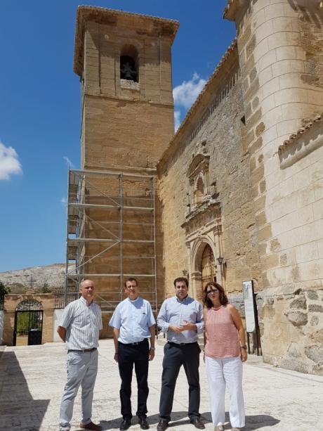 Inaugurada la rehabilitación de la Torre de Saceda del Río