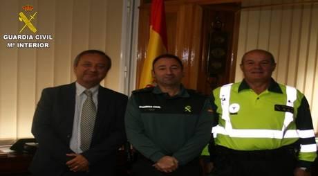 La Comandancia de la Guardia Civil de Cuenca recibió la visita del Jefe Provincial de Tráfico