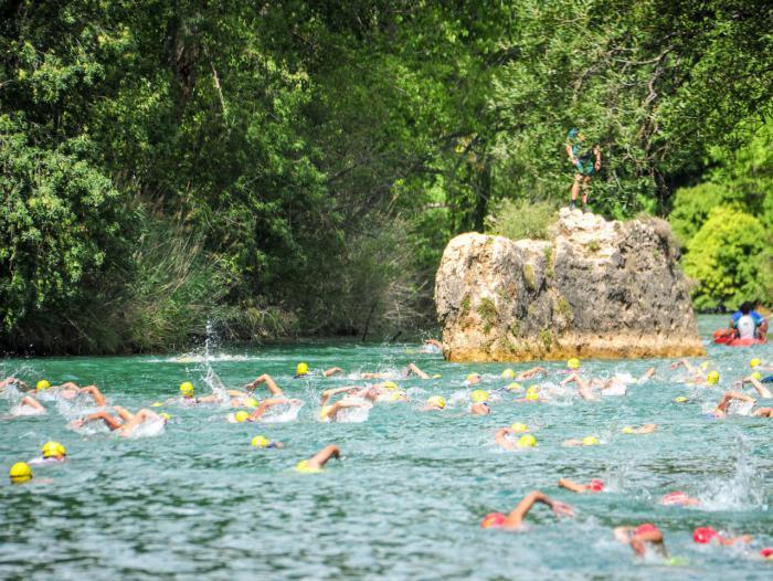 El sábado 12 de agosto se celebrará el XXIX triatlón Hoces de Cuenca